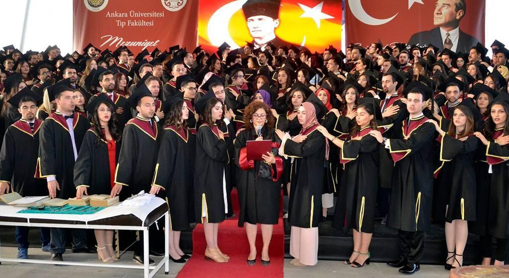 فارغ التحصیلان دانشگاه آنکارا