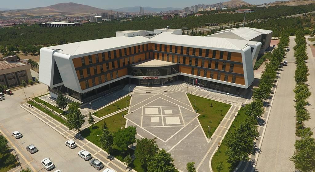 کتابخانه دانشگاه فرات ترکیه