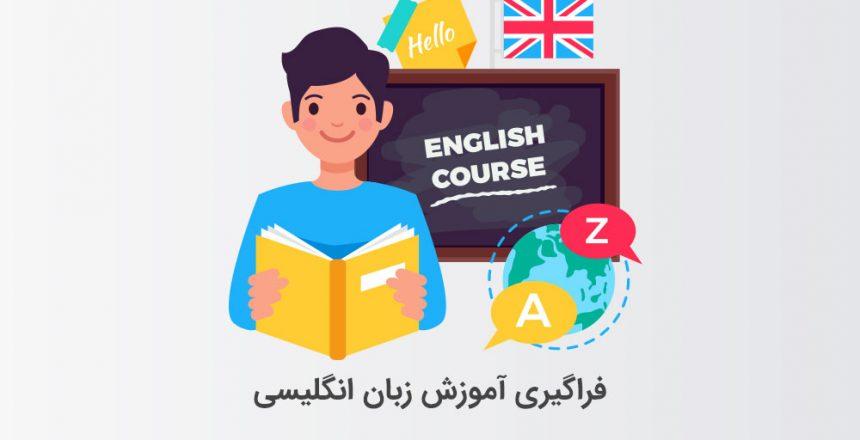 فراگیری آموزش زبان انگلیسی